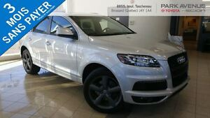 2014 Audi Q7 NEW TIRE,S-LINE,NAVI,BACK UP CAM, PARKING ASSIST,