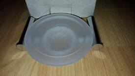 Opaque Glass Soap Dish - Brand New