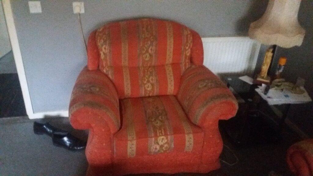 Sofa & armchair. Free + FREE + FREE