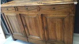 Original French Antique Sideboard / Dresser Chest Drawers Furniture Sutton sm3