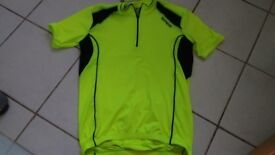 Speg XL short sleeved Day Glo Cycling Jersey