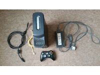 Xbox 360 120gb console wireless controller 5 games