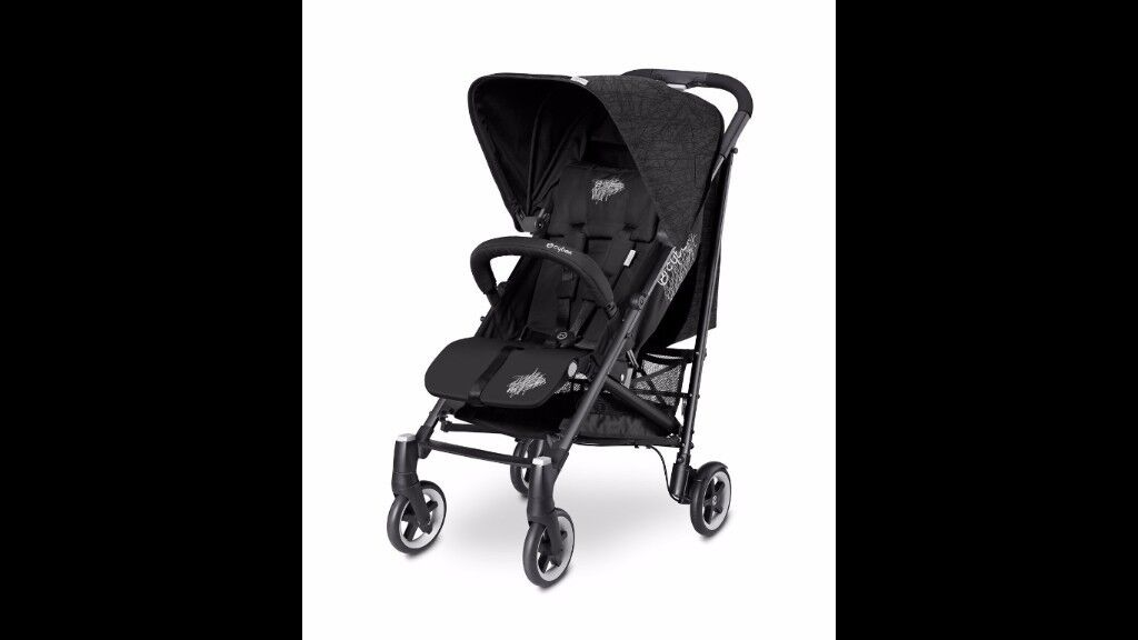 CYBEX Callisto Stroller - Happy Black