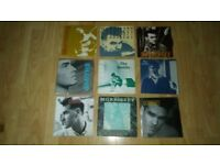 9 x smiths / morrissey singles - panic , what difference , william , suedehead ,