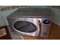 Russell Hobbs 800w microwave oven digital USED