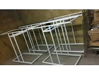 Clothes rails retail display hangers