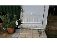 Painted Garden bench