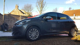Peugeot 208 Allure Blue HDi 2016 Urecorded damage salvage starts and drives 5dr **EASY FIX** HPi CLR
