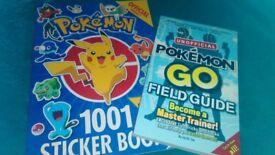 Pokemon Books Brand New