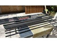 Fishing pole - Sensas 16 metre Carp Crazy Pole 100