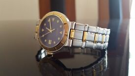 Rotary men's watch genuine watch REF10365 used. Silver and Gold. Only £79