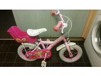 "Girls Bike 12"" Wheels (Apollo)"