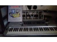 electric organ.