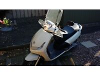 peugeot 125cc scooter, 62reg, Good condition.