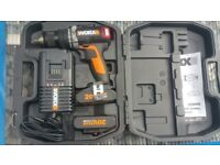Worx WX373.2 20V MAX Lithium-Ion Brushless Combi Drill