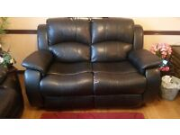Free to collect recliner chair and recliner 2 seater sofa
