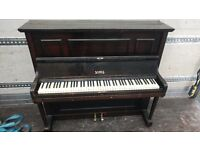 Beautiful Black 'James' Upright Console Piano - CAN DELIVER