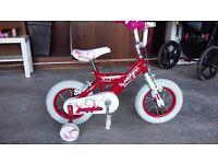 Girls bike 12 inch Hardly Used
