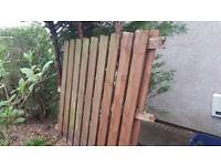 Section of Fence