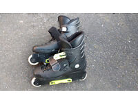 Roller boots size 6/7