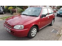 Toyota Starlet 1.3 i GLS 5dr Automatic/Very low mileage