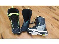 Unisex kids Salomon Talapus Thermicfit Snowboard Boots (size 2.5)
