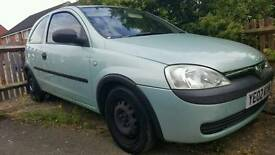 Vauxhall Corsa 1.0i Club 2002 Runner Spares or Repairs
