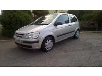 HYUNDAI GETZ, 1.1 LTR. NEW MOT, 52K MILES, LOW ON FUEL AND INSURANCE