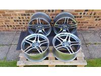 """Set of 4 - 18"""" Mercedes Benz AMG Style Alloy Wheels"""