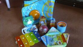 A selection of toys - Little tikes, Leap frog etc