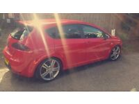 MODIFIED SEAT LEON FR RED. STUNNING EXAMPLE.