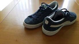 Puma suede trainers size 13