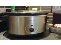 Cookwoorks slow cooker 6.5L