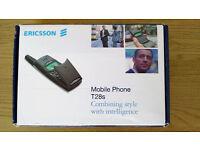 Iconic ! ERICSSON T28 Retro Flip Phone Boxed