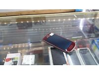 = RECEIPT INCLUDED = Samsung Galaxy S3 **Mini** 8GB RED on O2 / GiffGaff / Tesco