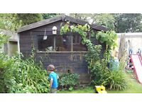 Attractive garden shed (10ft x 4ft)