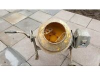 SIP 63 LITRE ELECTRIC CEMENT MIXER £110 ONO