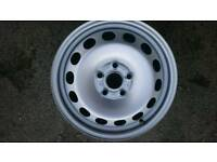 VW 16 inch steel wheels BRAND NEW