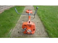 Oleo mac 52cc industrial petrol strimmer cost over £500 used domestically