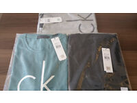 New Calvin Klein Slim Fit Polo Shirt T Shirt Clearance Sale
