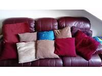 10 various sized cushions £2 each