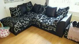 Corner couch and chair