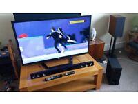 "47"" LG Smart 3D TV, Soundbar & Subwoofer"