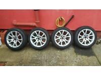 Audi volkswagen skoda seat alloys with winter tyres (winter tyres)