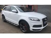 Audi Q7 Black Edition Sline+ 2012 Excellent Condition BARGAIN ONLY £23995