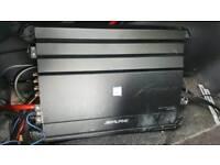 Apline MRX - M100 Mono Amplifier 1000w RMS Car Amp