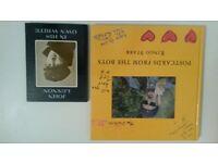 The beatles - 2x books by John Lennon & Ringo Starr (signed)