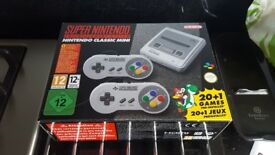 Snes Mini, no pads. Brand new boxed.