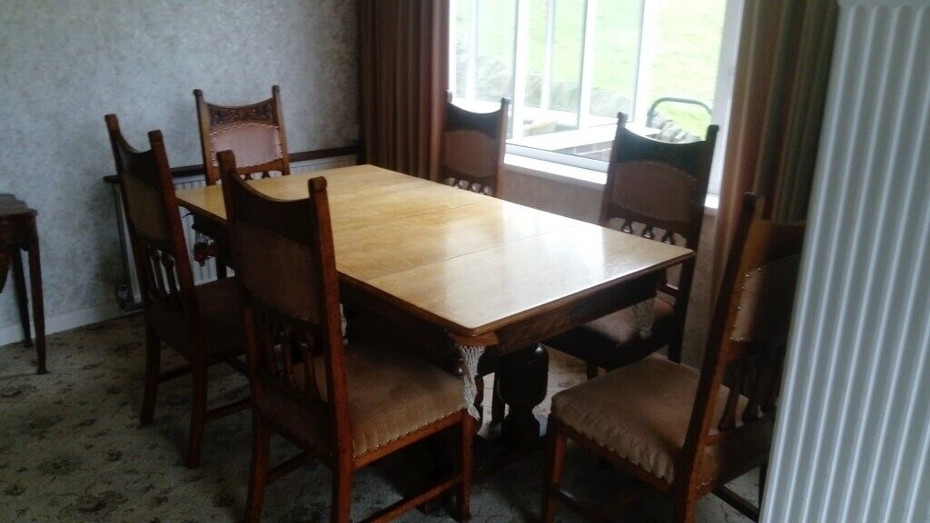 Riley Slate Bed Snooker Table Dining Table With 6 Chairs Footstool In