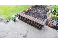 Timber Garden Border Edging for Lawns, Raised Beds etc